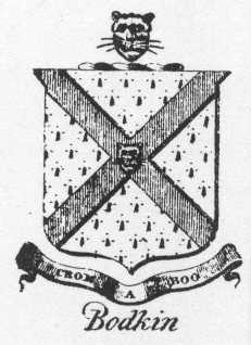 Bodkin Family Crest Galway City