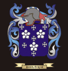 Darcy Family crest Galway Ireland