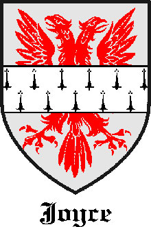 Joyce Family Crest County Galway