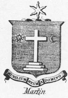 Martin Family Crest - County Galway